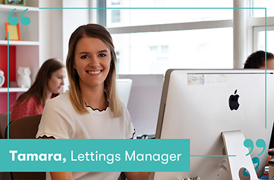 Tamara Price, Lettings Manager