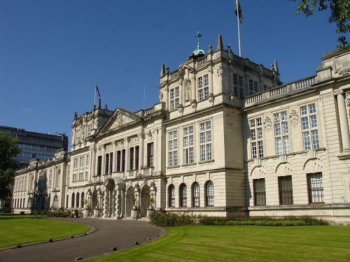 Cardiff University main building - Stan Zurek