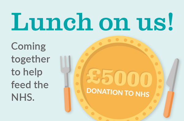 Help feed the NHS