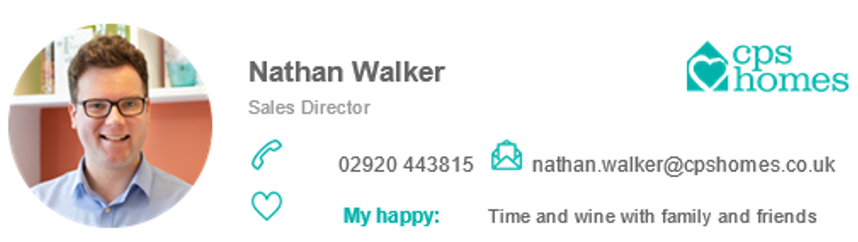 Contact details for Nathan Walker - 02920 443815