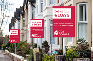 Let your property within 4 days with Cardiff's quickest renters!