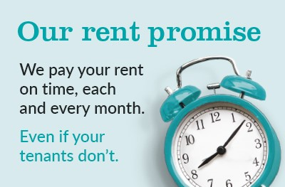 Rent Smarter with our Guaranteed Rent Service - Your rent paid on time each month, every month