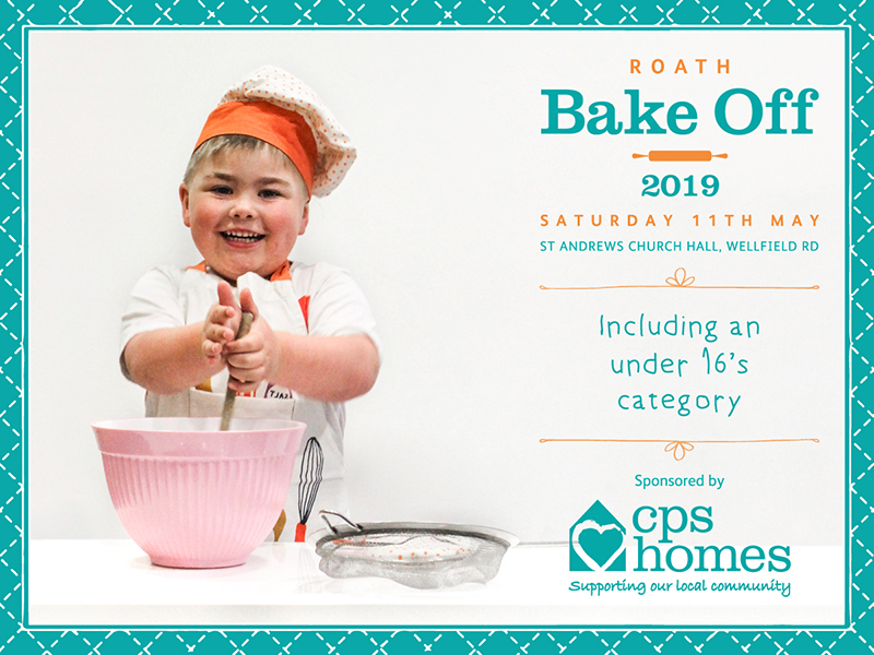 Roath Bake Off 2019 sponsored by CPS Homes