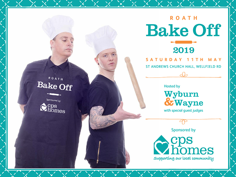 The Roath Bake Off returns on Sat 11th May