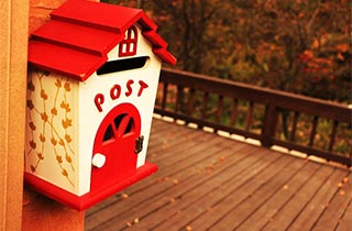 What to do about post addressed to previous tenants