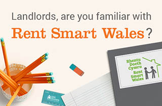 Is the person or company managing your property licensed by Rent Smart Wales?